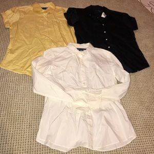 Lot of 3, Polo Ralph Lauren button down shirts